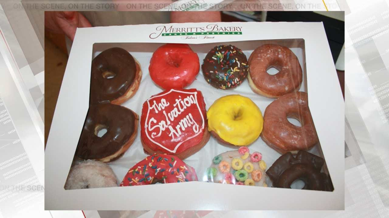 Tulsa Baker Helping Salvation Army On National Donut Day