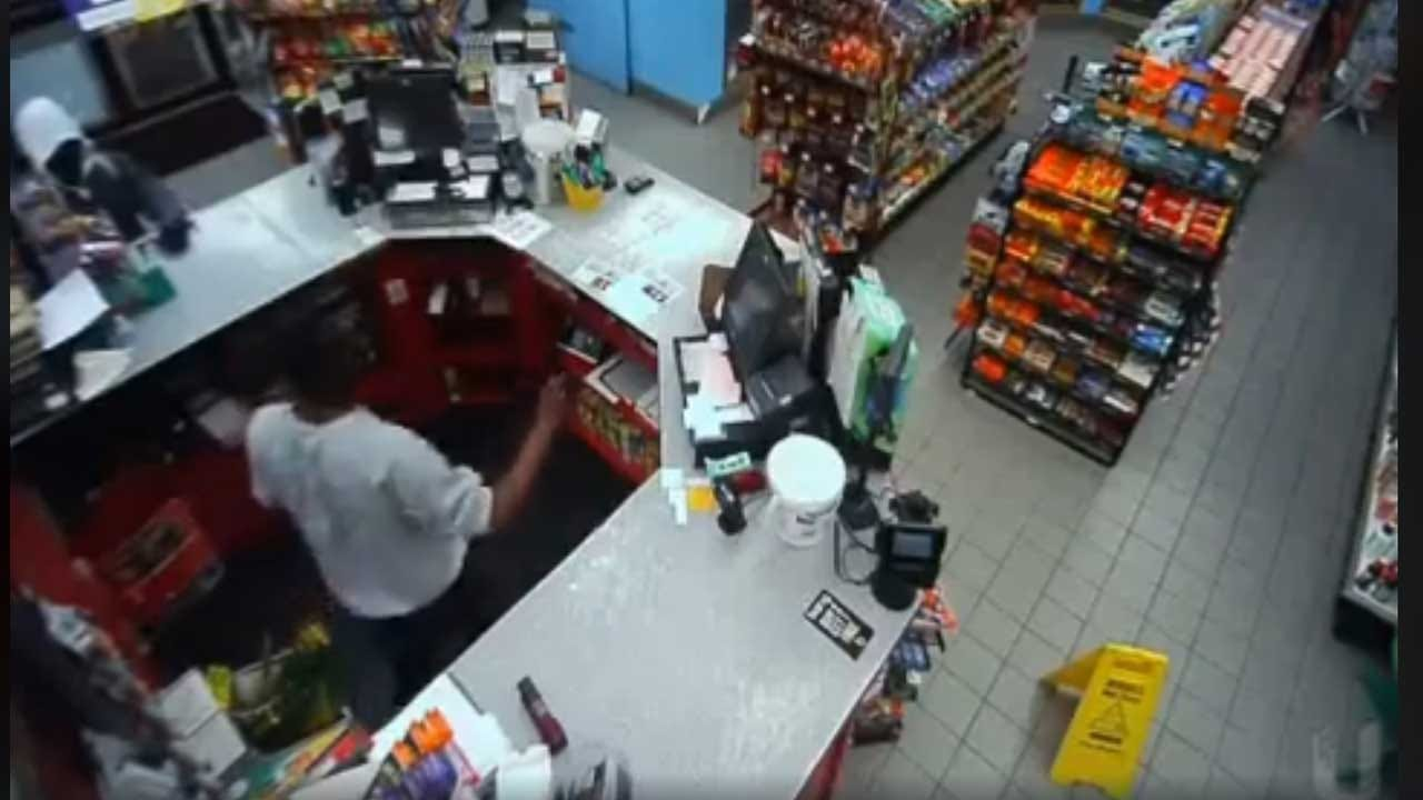 Muskogee Police Searching For Armed Robbery Suspect
