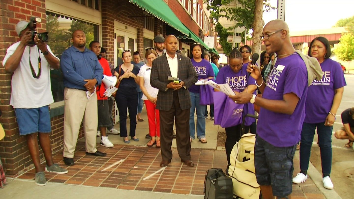 Tulsans Gather In Greenwood District To Mark 97th Anniversary Tulsa Race Riots