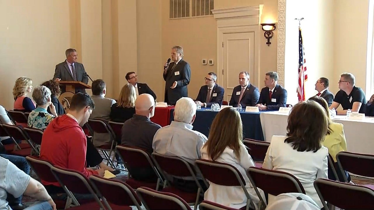 Gubernatorial, Attorney General, State Legislature Candidates Attend Forum In Sapulpa