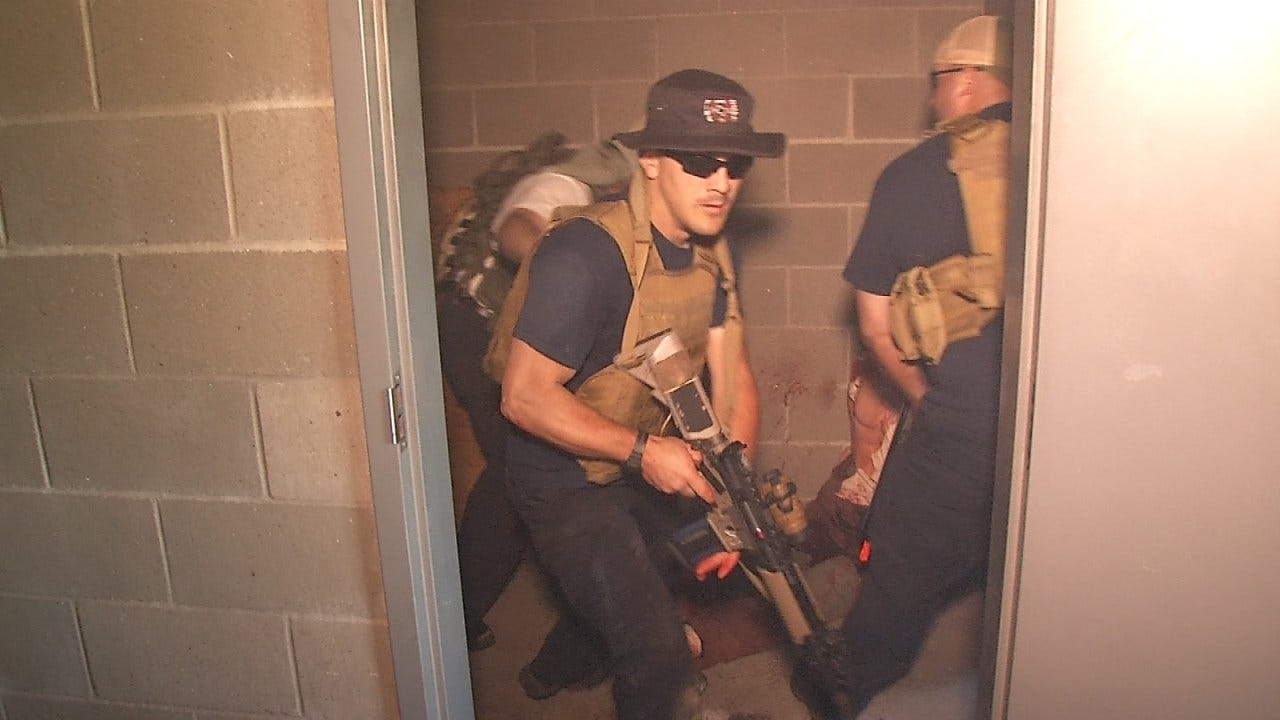Firefighters Gather In Tulsa For Active Shooter Training