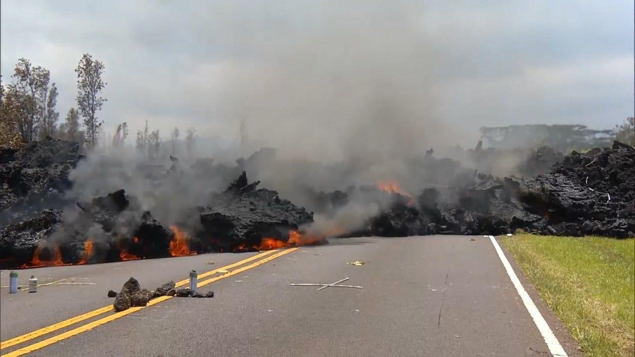 Hawaii's Kilauea Volcano Eruption Destroys More Than 30 Homes