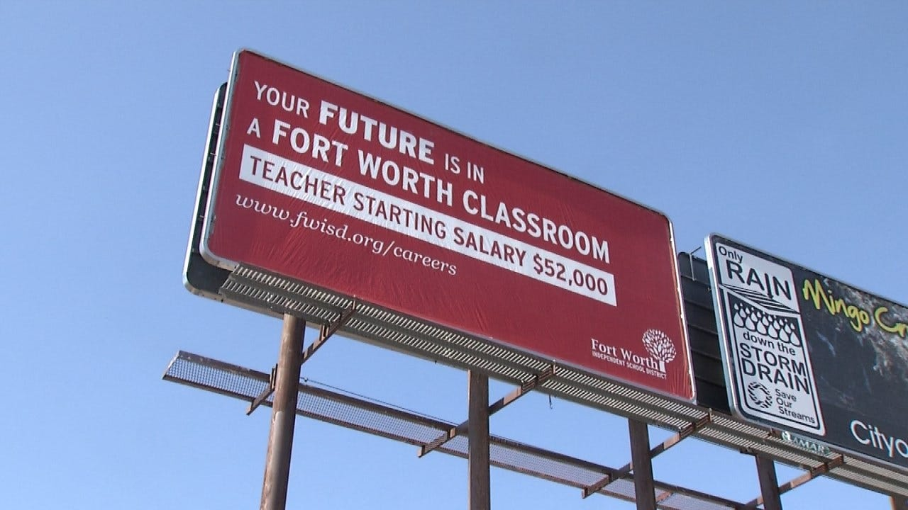 Texas School District Openly Recruiting Oklahoma Teachers
