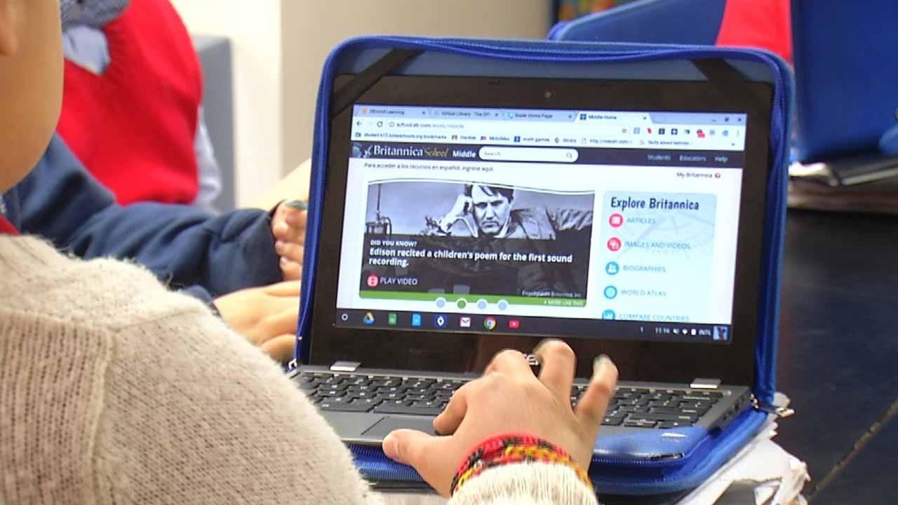 Tulsa School 1 Of 16 In State Using Personalized Learning Method