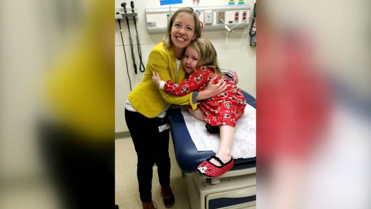 3-Year-Old Glenpool Girl Diagnosed With Inoperable Brain Tumor