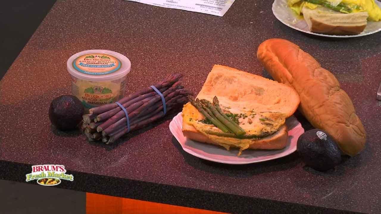 Sauteed Asparagus, Eggs And Parmesan
