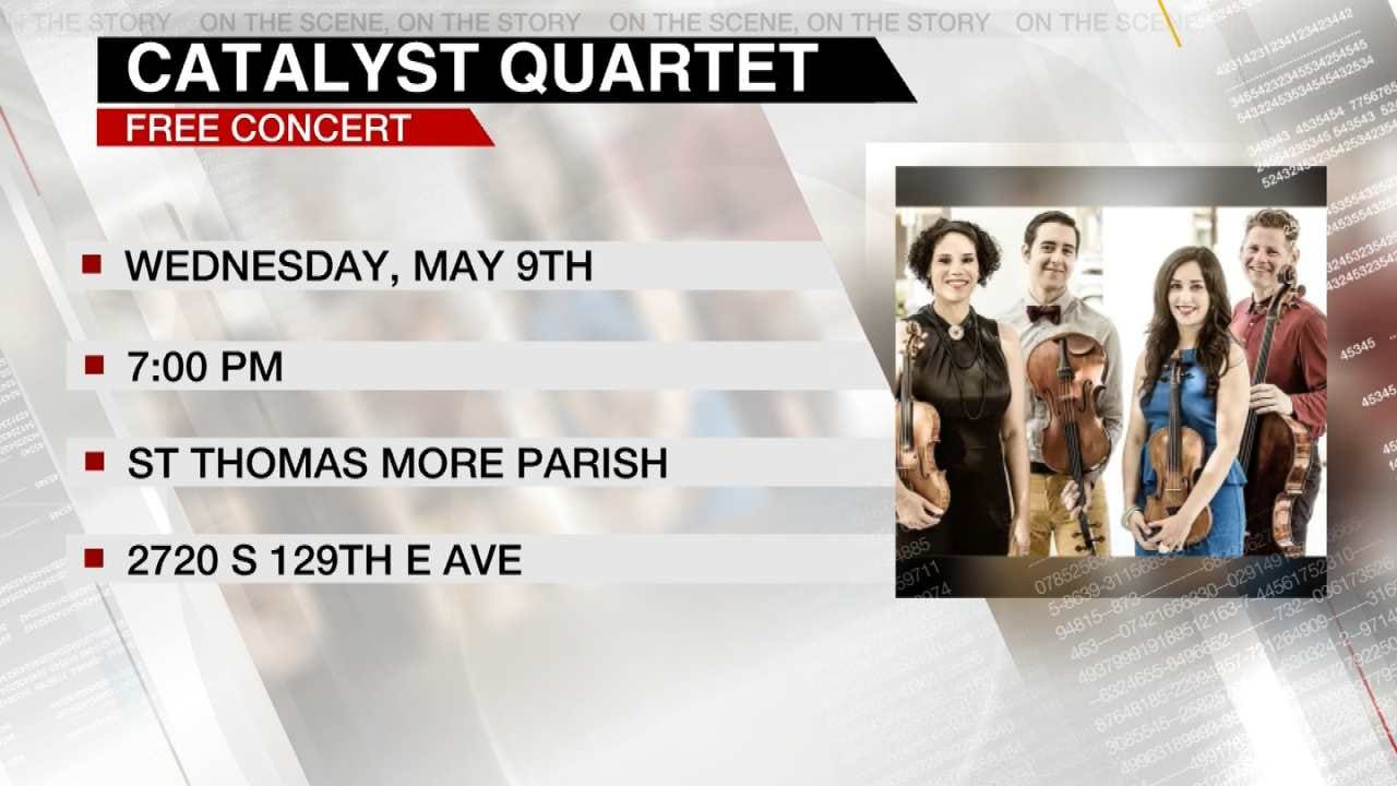 The 'Catalyst Quartet' Performs On 6 In The Morning