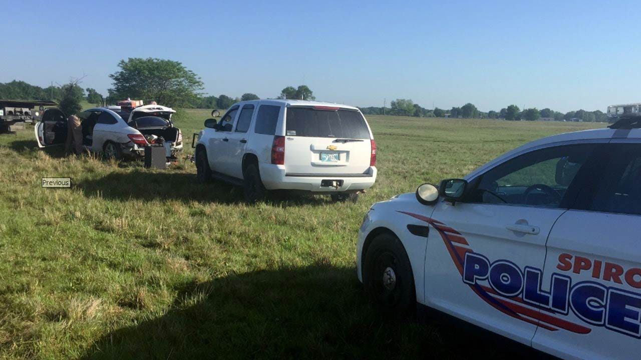 Two Arrested Following LeFlore County Police Chase