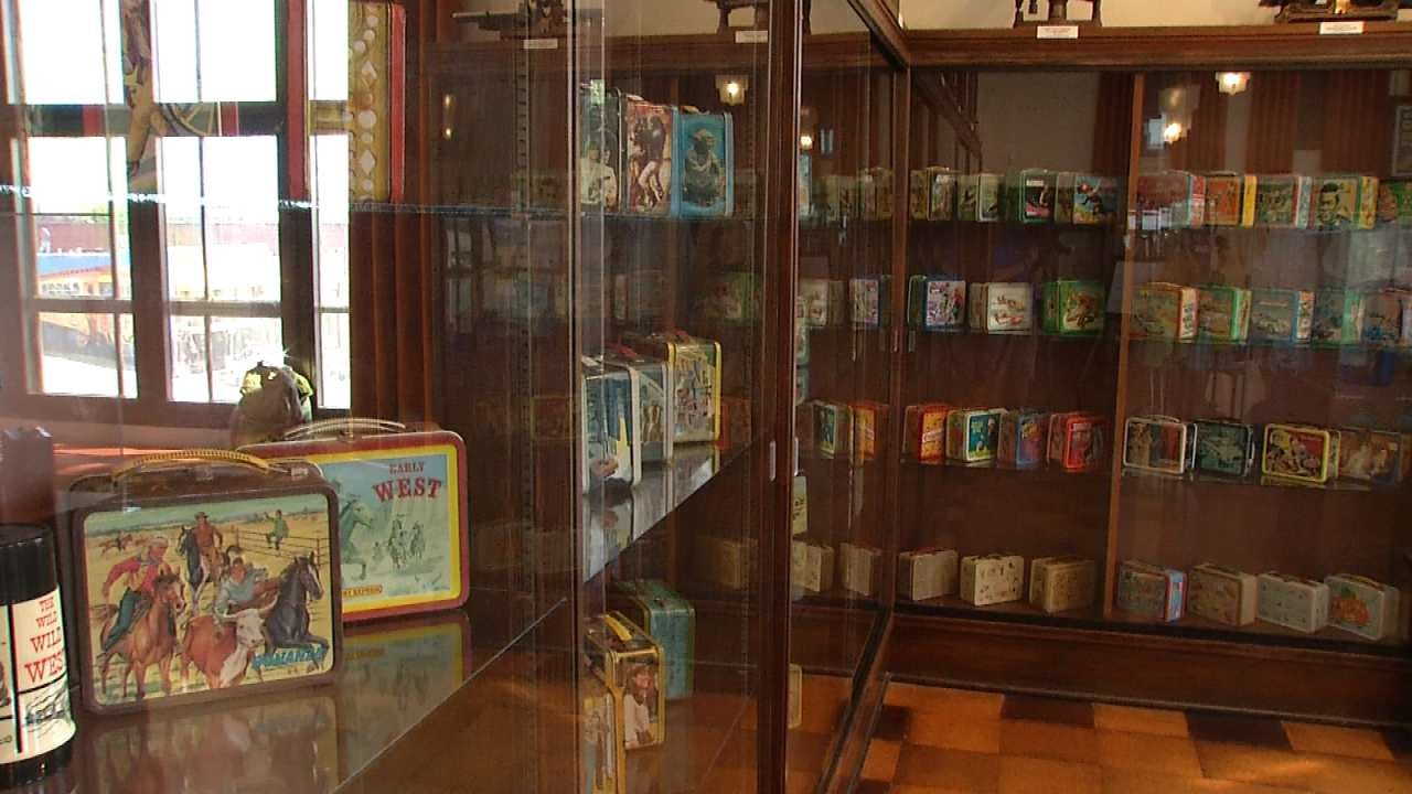 Vintage Lunchbox Collection On Display At Sand Springs Historical Museum