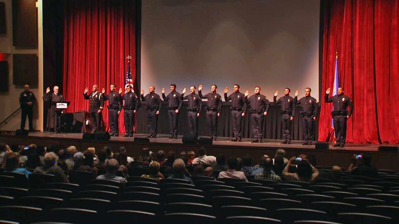 11 Officers, Fire Investigator Join Broken Arrow Police Department
