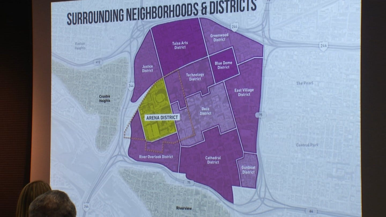 Planning Underway To Transform Downtown Tulsa's Arena District