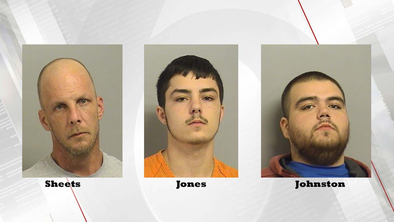 Charges Filed Against Three Men In Tulsa Homicide