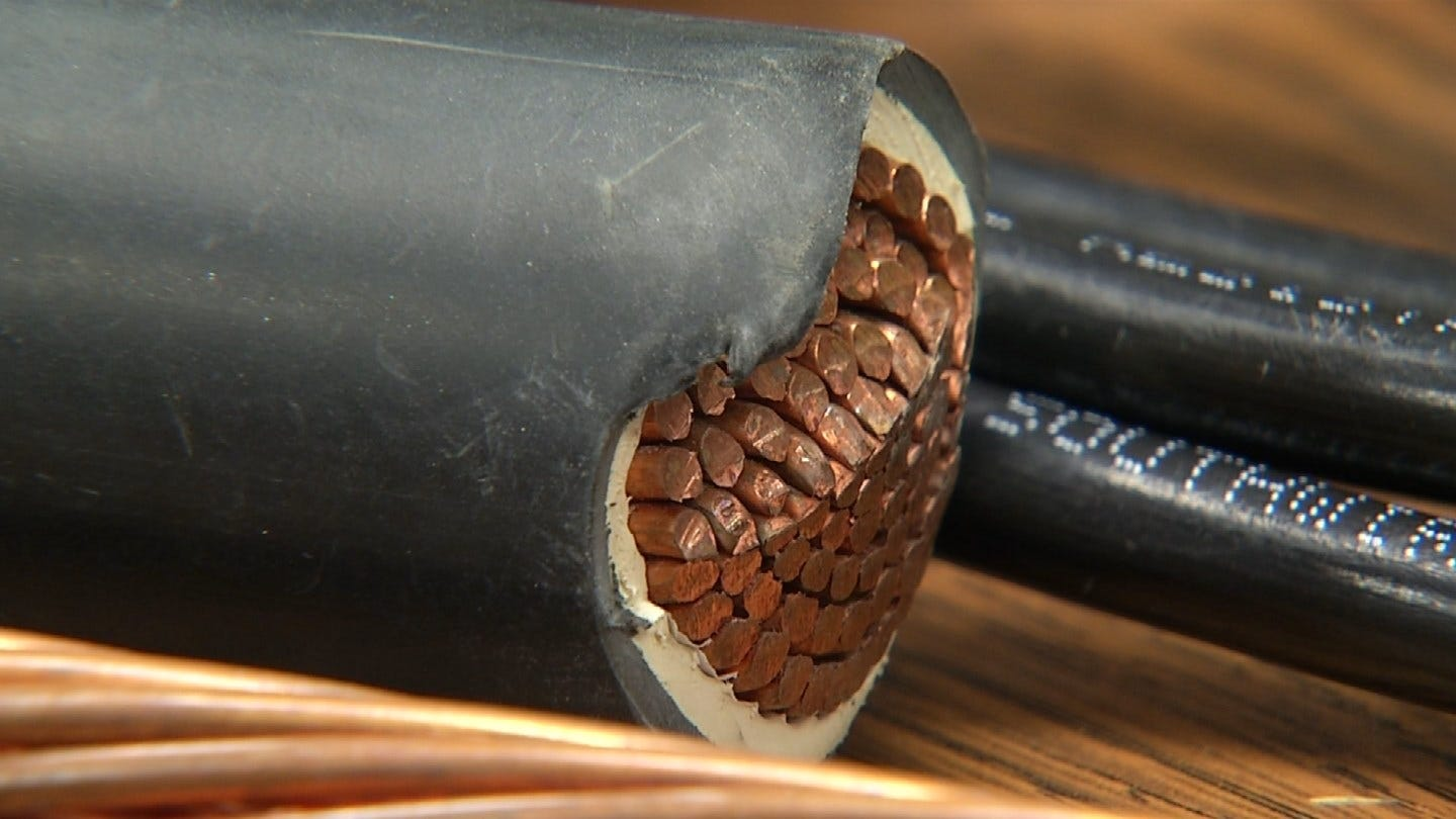 New State Law Aims To Combat Copper Thieves