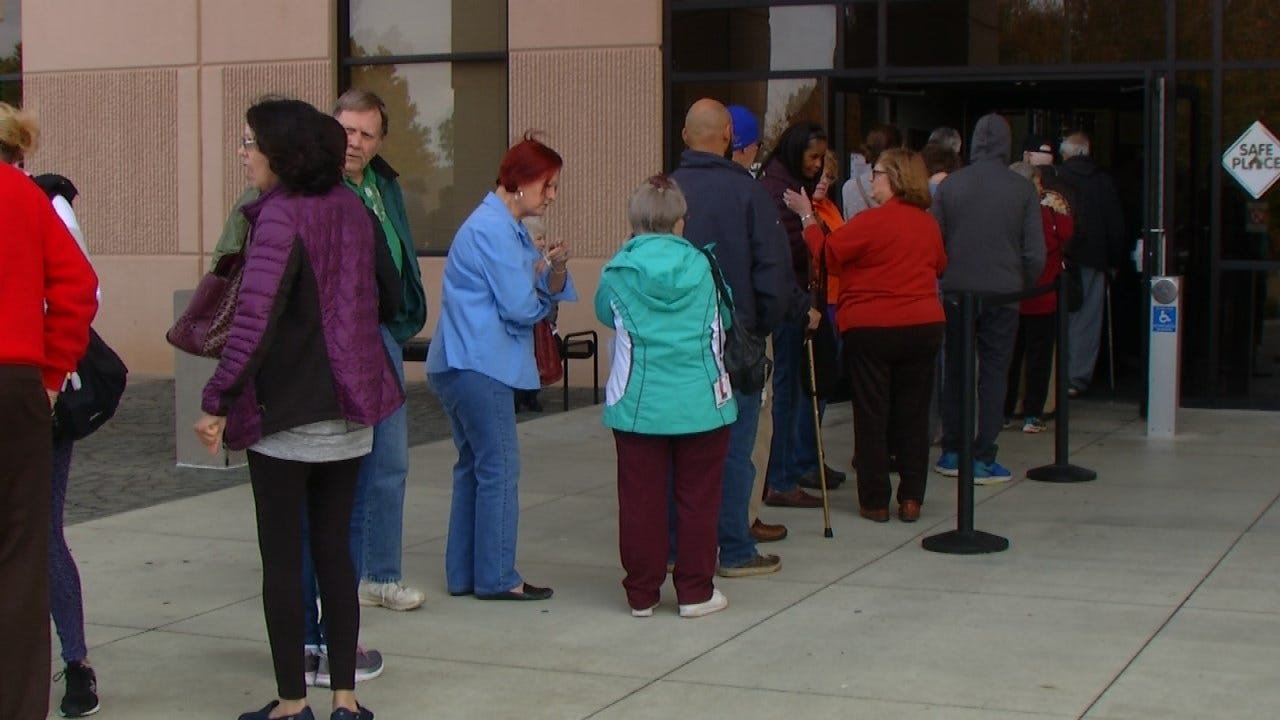 Early Voting Continues Across Oklahoma Today & Saturday