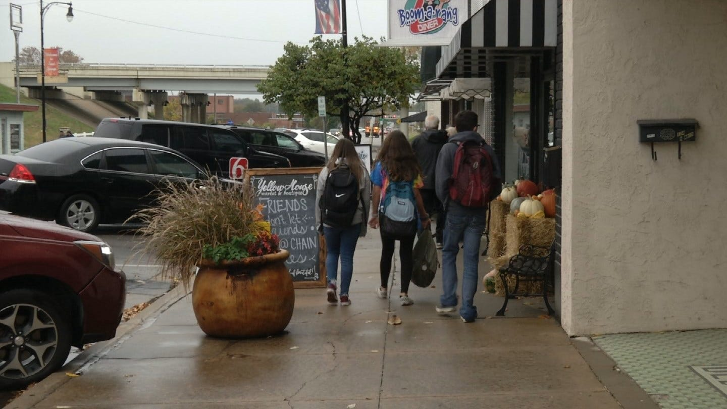 New Shops Sign Of Growth For Downtown Sand Springs