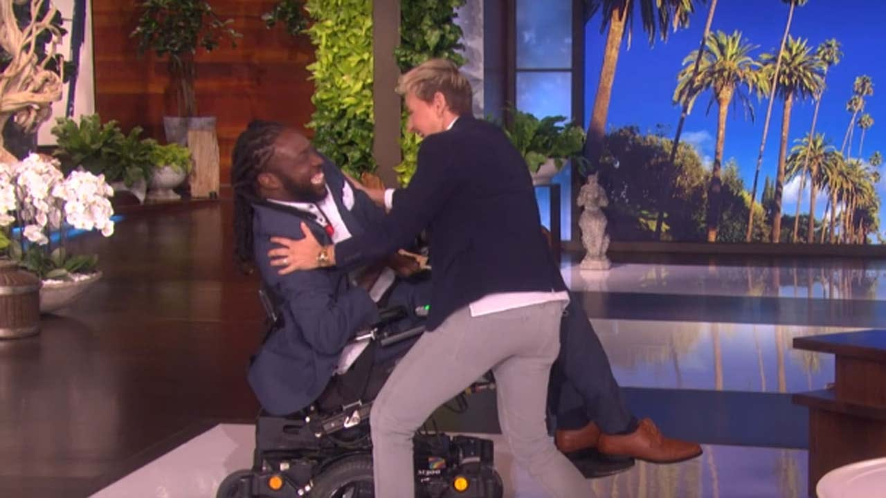 Tulsa Man 'Amazing Emeka' Honored On Ellen DeGeneres Show