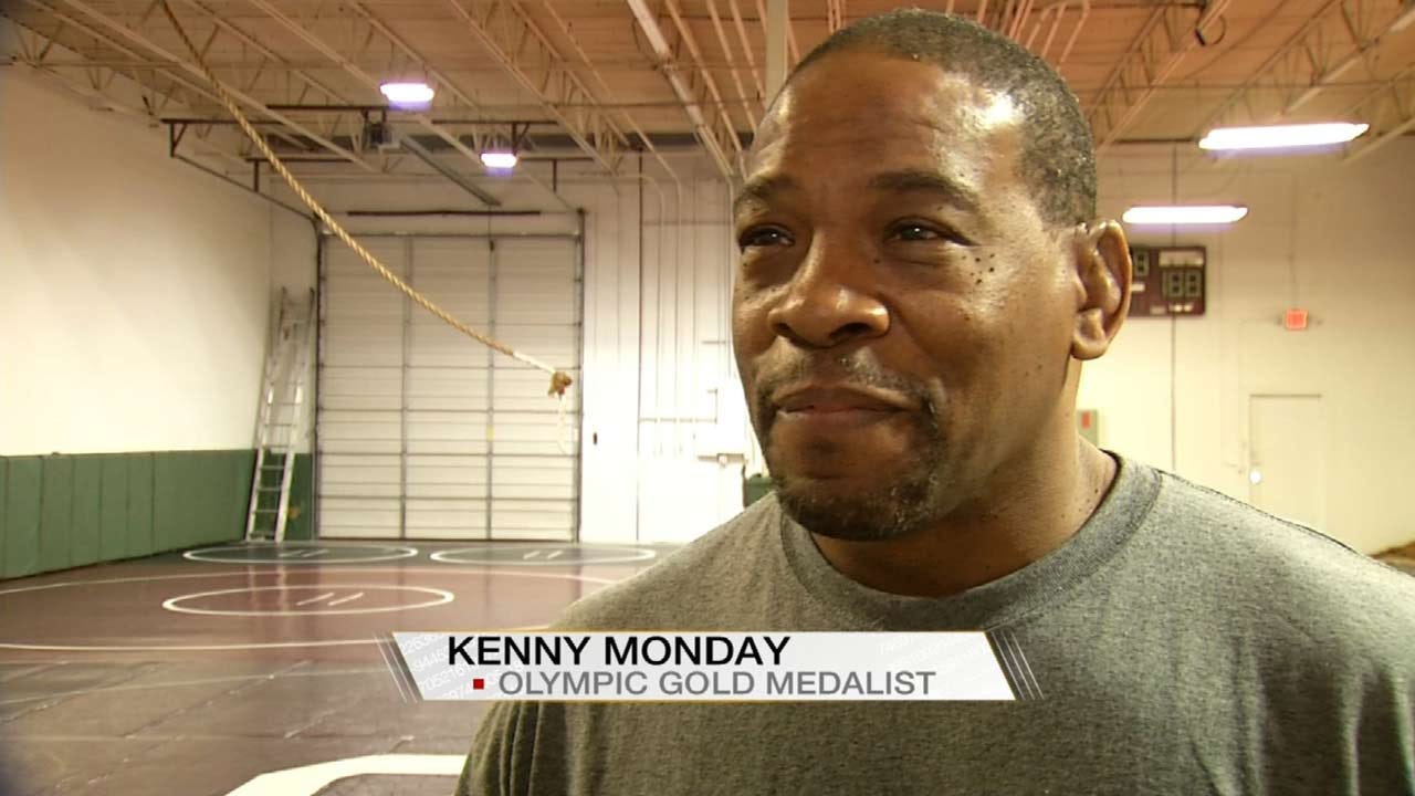 Olympic Gold Medalist Kenny Monday Returns To Tulsa