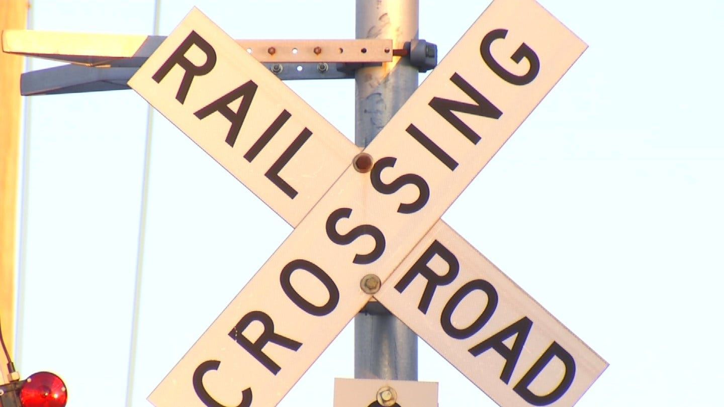Train Separated After Blocking Oologah Road For Days