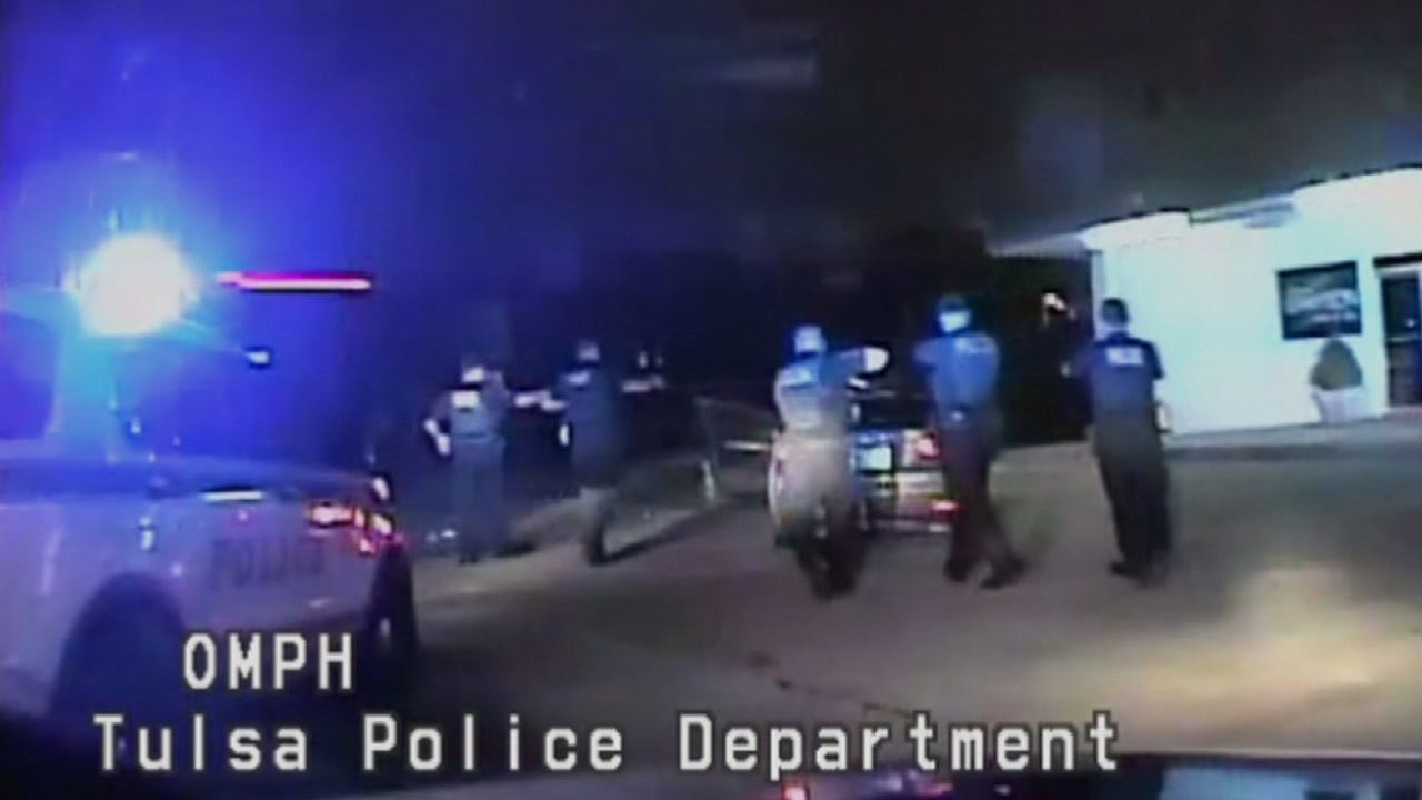 Tulsa Police Release Dashcam Video From Stolen Car Chase