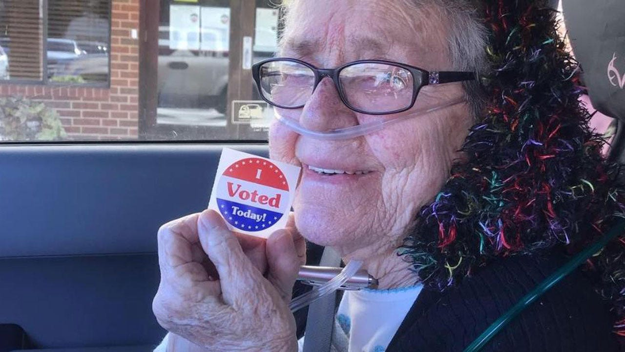 82-Year-Old Texas Woman Votes For First Time, Dies Just Days After Casting Ballot