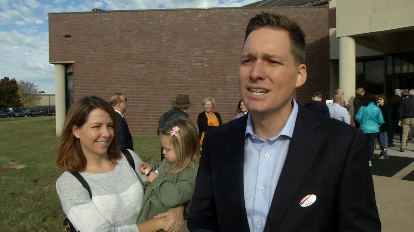 Lt. Governor Candidate Matt Pinnell Hopes For High Voter Turnout