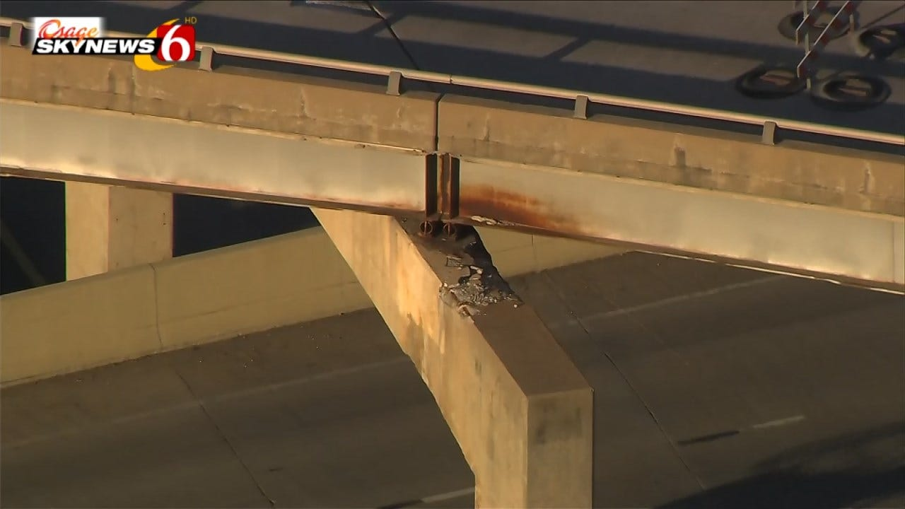 Beam Repair Project On Highway 169 At I-244 To Cause Slowdowns