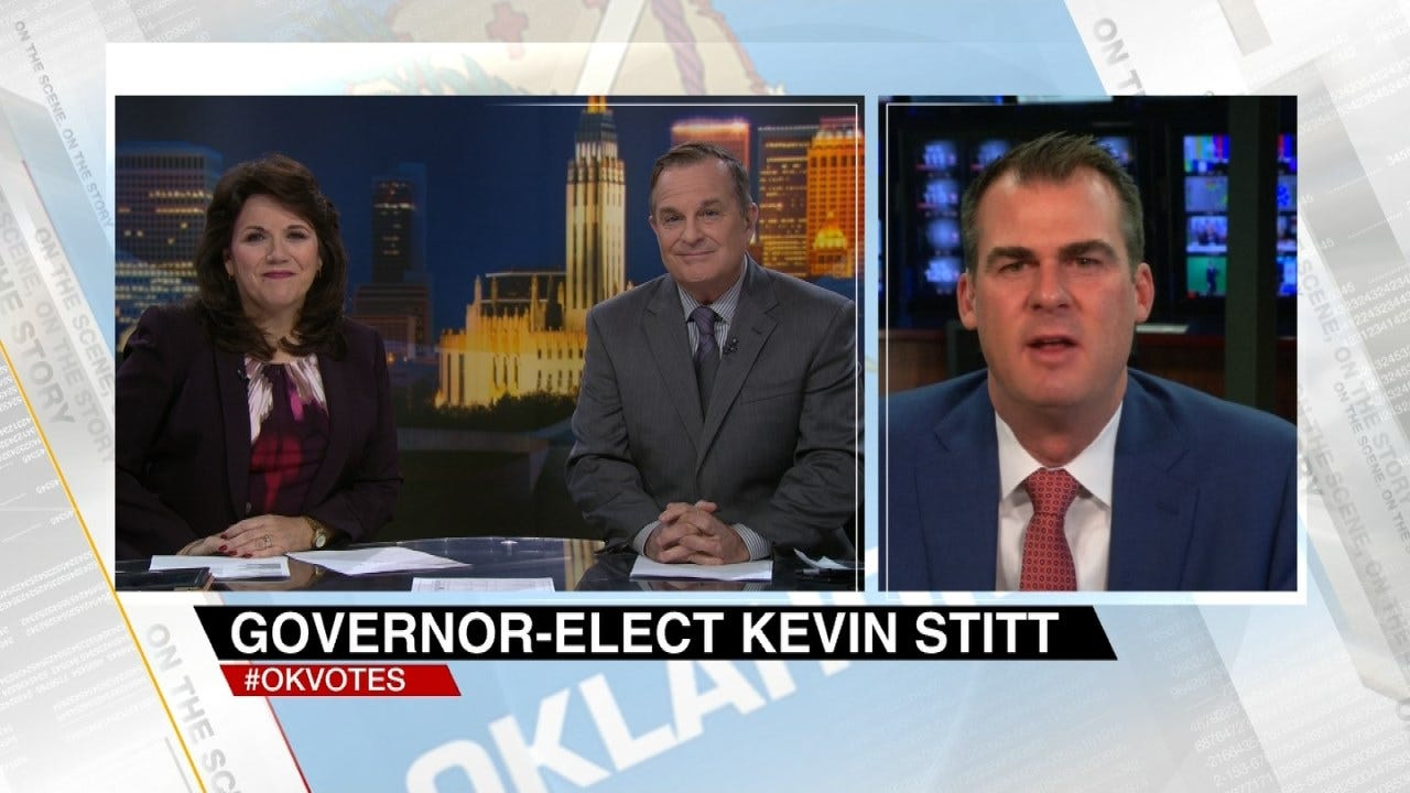 Governor-Elect Kevin Stitt Talks About His Victory On 6 In The Morning