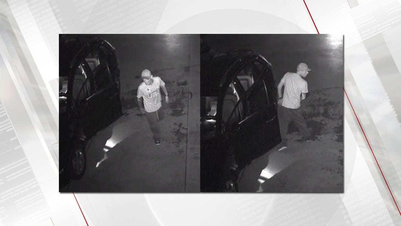 Claremore Police Looking For Car Thief