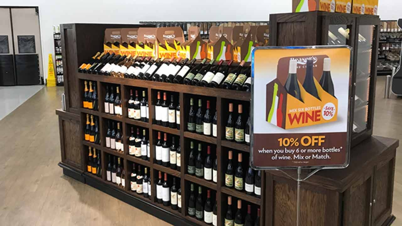 Grocery Stores Now Selling Strong Beer, Wine In Oklahoma