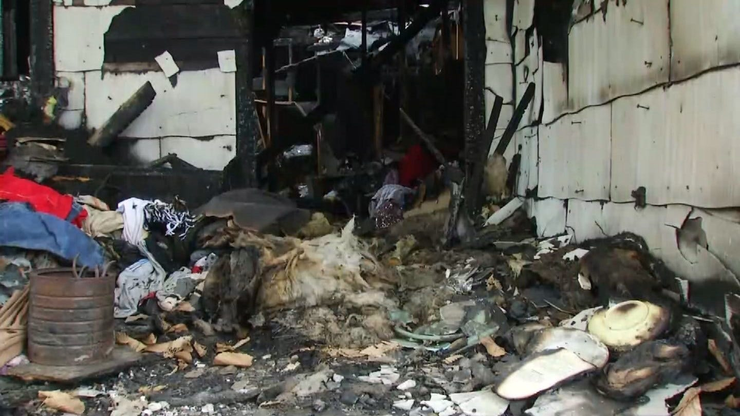Locust Grove Family's Home Destroyed By Fire, Woman Arrested For Arson