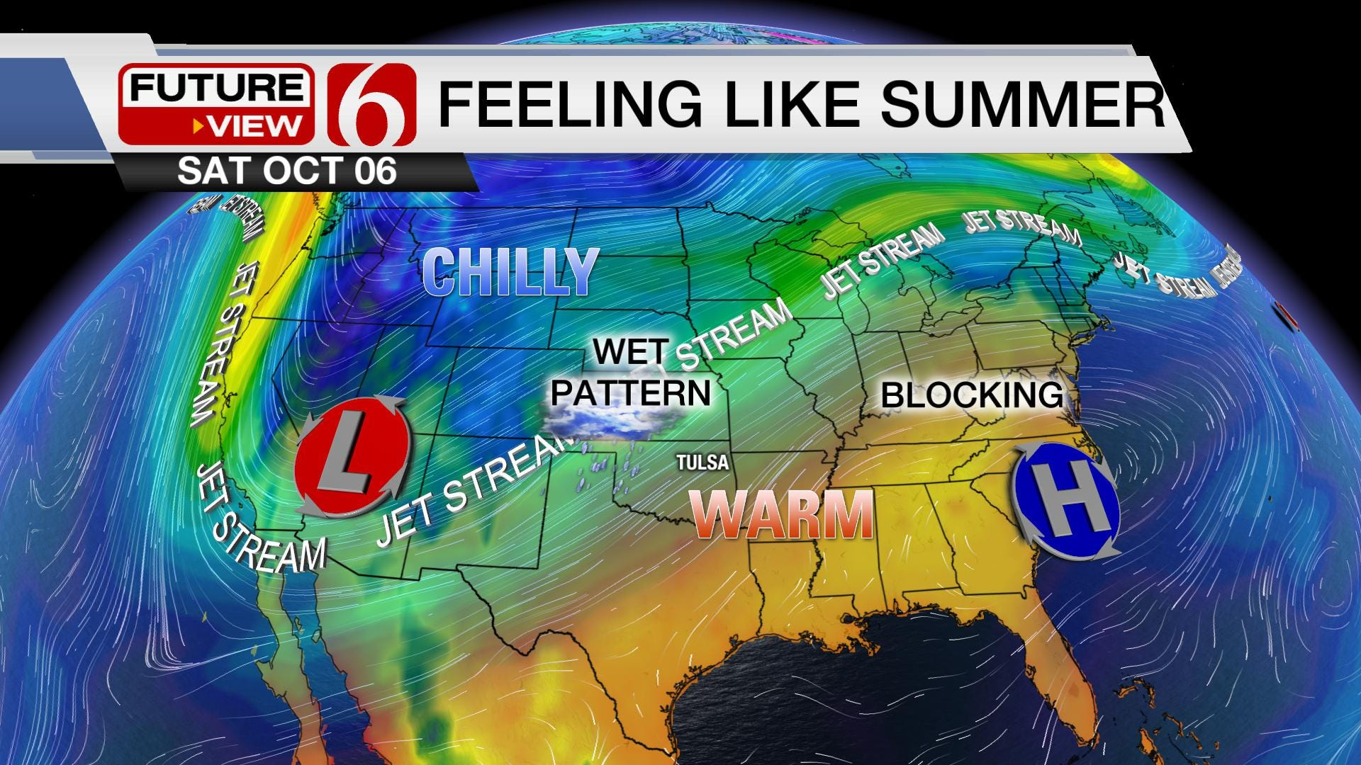 October Begins with A Heat Wave, Turns Unsettled
