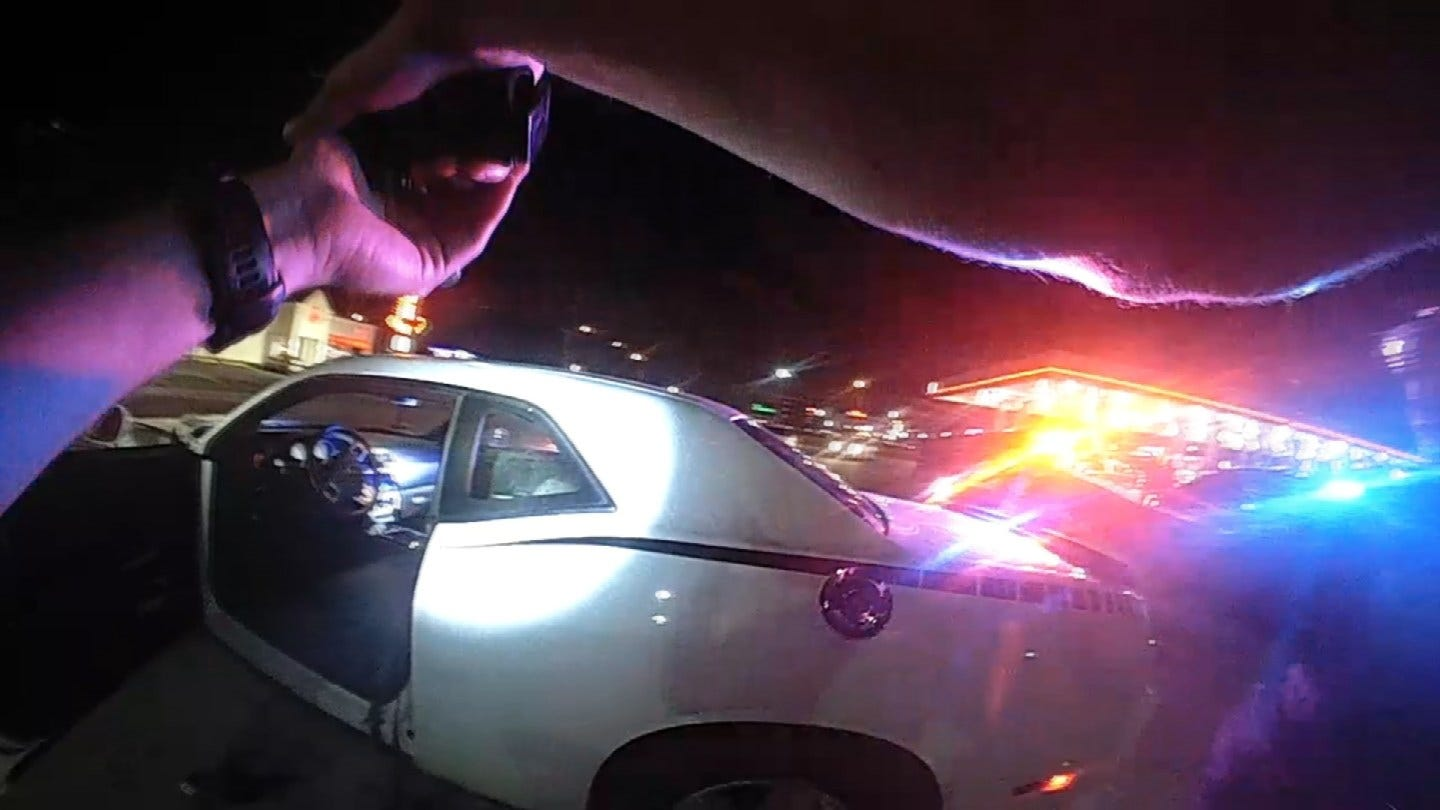TPD Releases Body Cam Video Of Police Chase Arrest