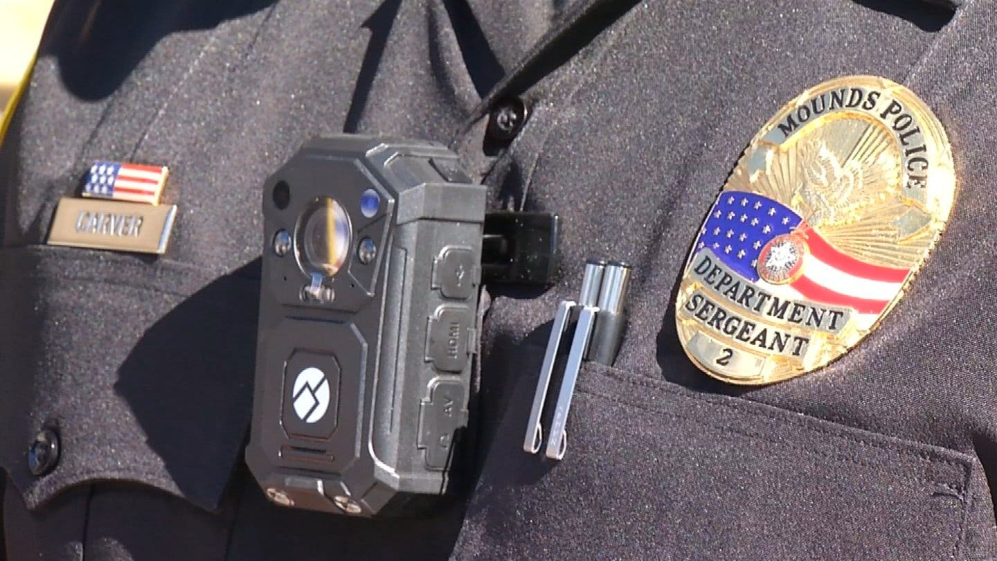 Mounds Police Get New Body Cams With Help From The Community