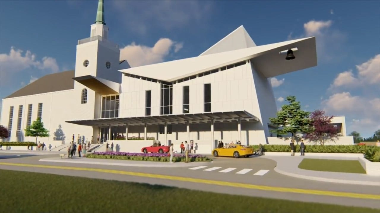 Photos Show Plans For New Downtown Church