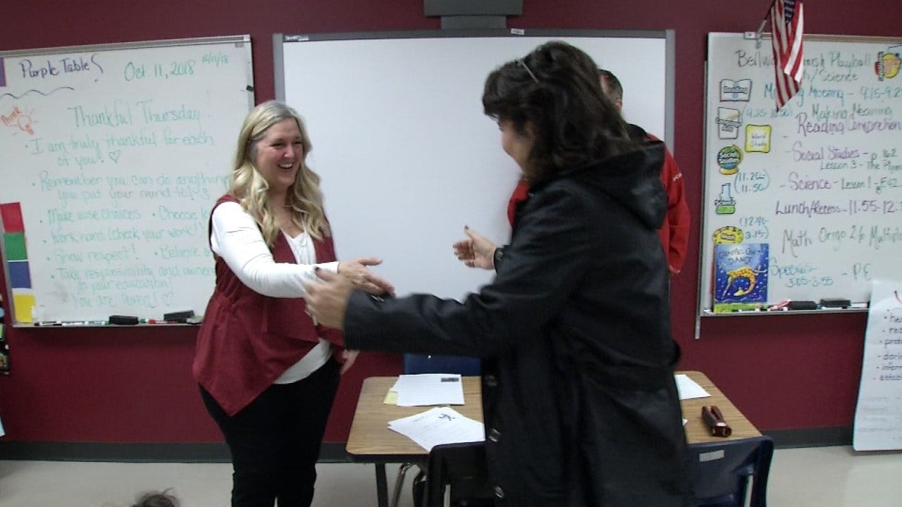 Broken Arrow Educator Honored As 'Impactful Teacher'