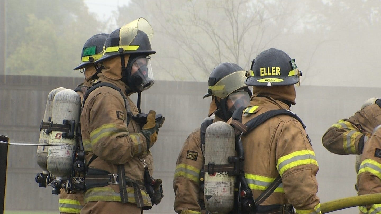 Live Burns Teach TFD Cadets Important Skills