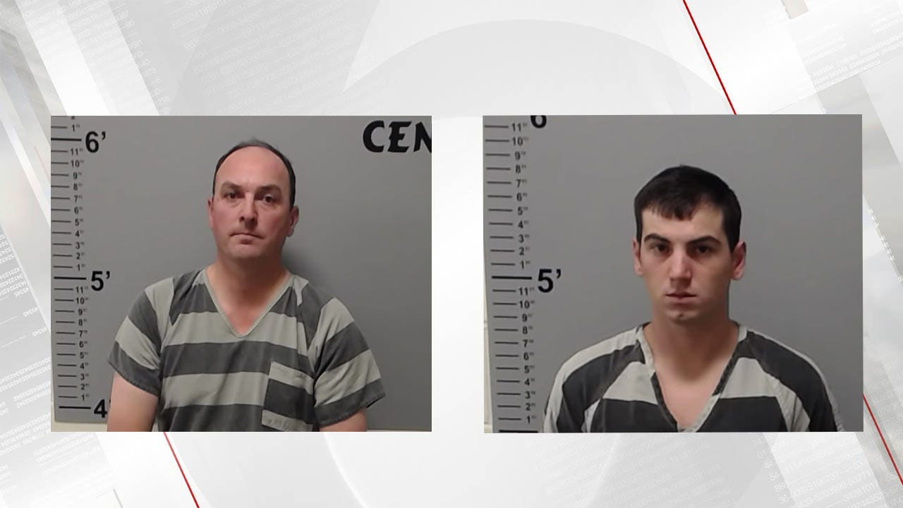 Rancher, Stepson Face Charges For Stealing Cattle In Checotah