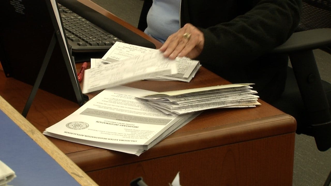 Rogers Co. Election Board Open Until Midnight To Register Voters