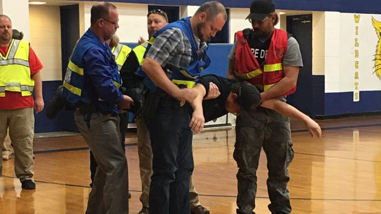 Olive Volunteer Fire Department Hosts Active Attacker Response Course