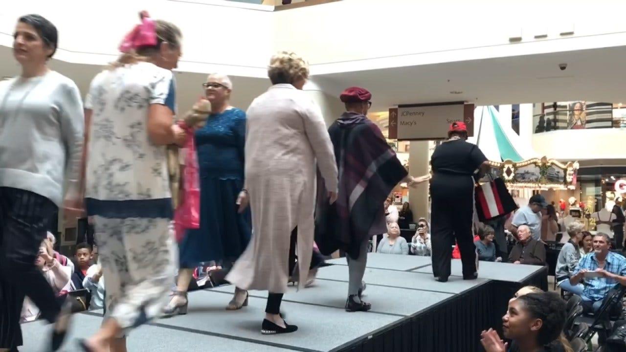 Breast Cancer Survivors Hold Fashion Show At Tulsa Mall