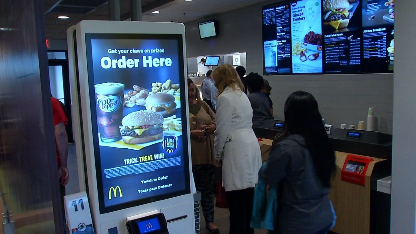 New Tulsa McDonald's First In Green Country With Digital Kiosks
