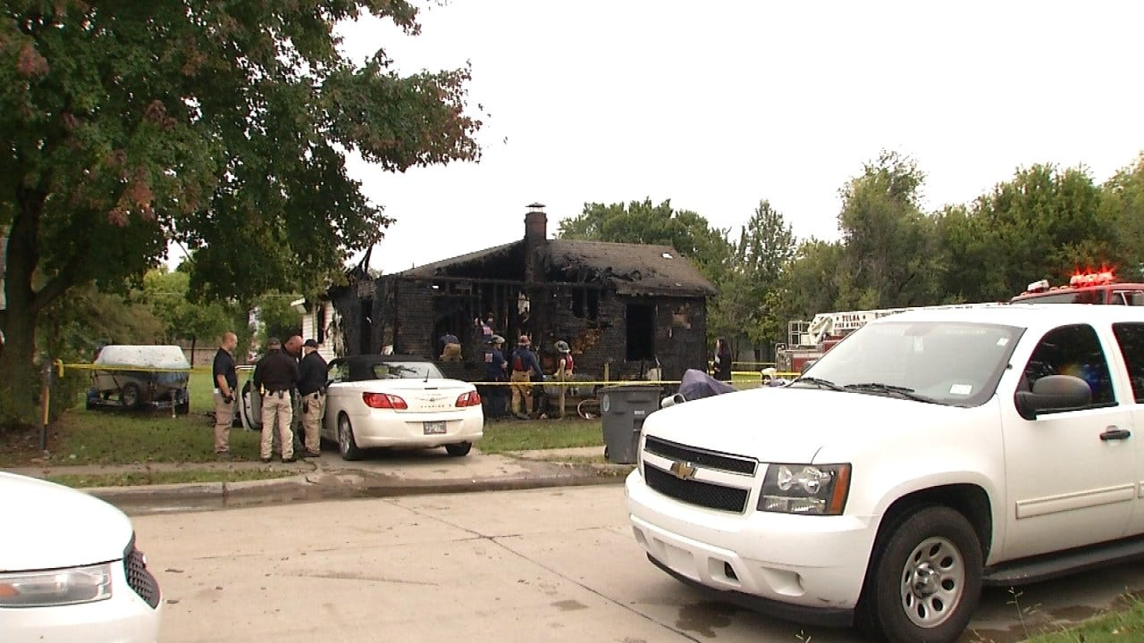 Police ID One Of Three Tulsa House Fire Victims