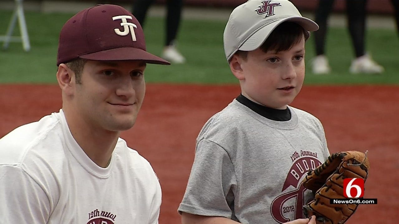 Rain Doesn't Put Damper On Jenks Buddy Baseball