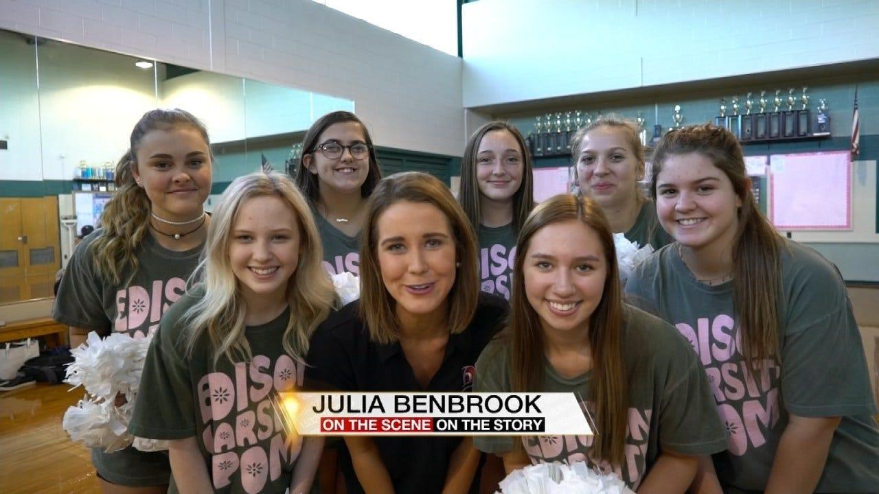 Pom Squad Hopes To Meet Paula Abdul During Her Tulsa Visit