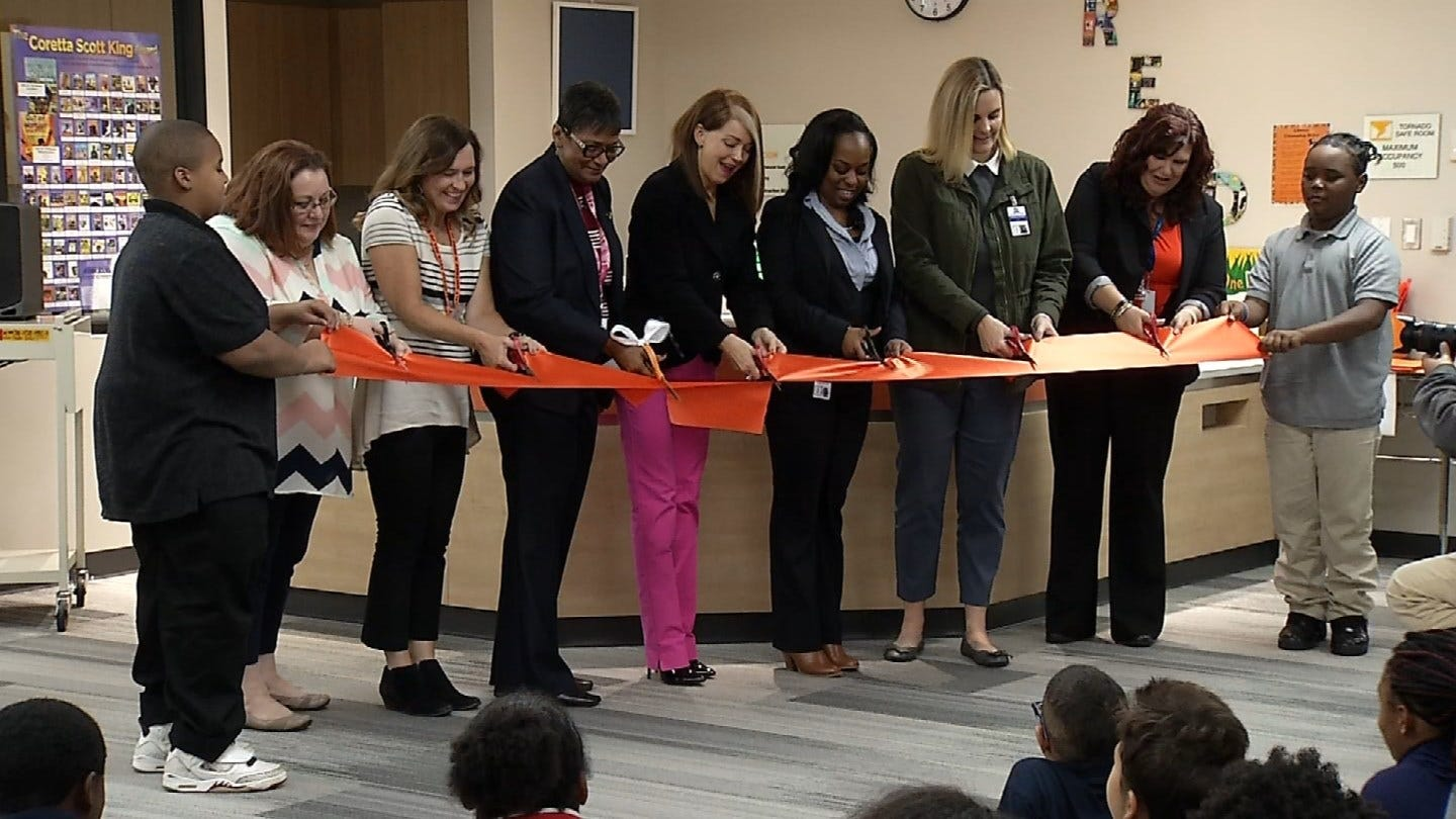 Tulsa Elementary School Has New Library, Storm Shelter
