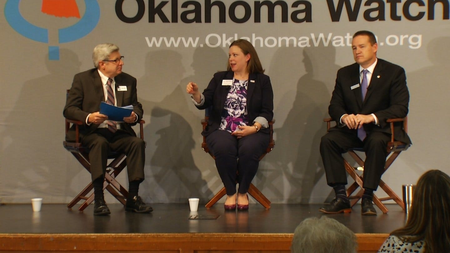 Oklahoma Watch Holds State Question 801 Forum