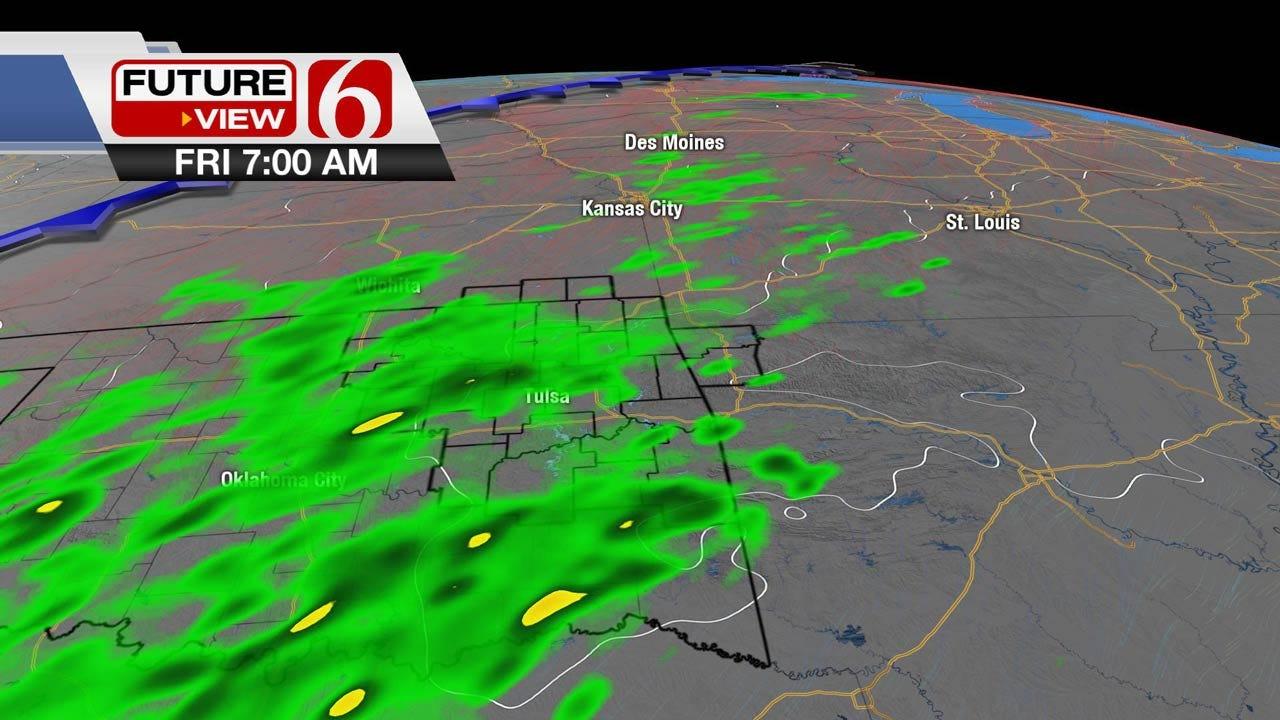 Pleasant Weather Across Eastern Oklahoma On Wednesday