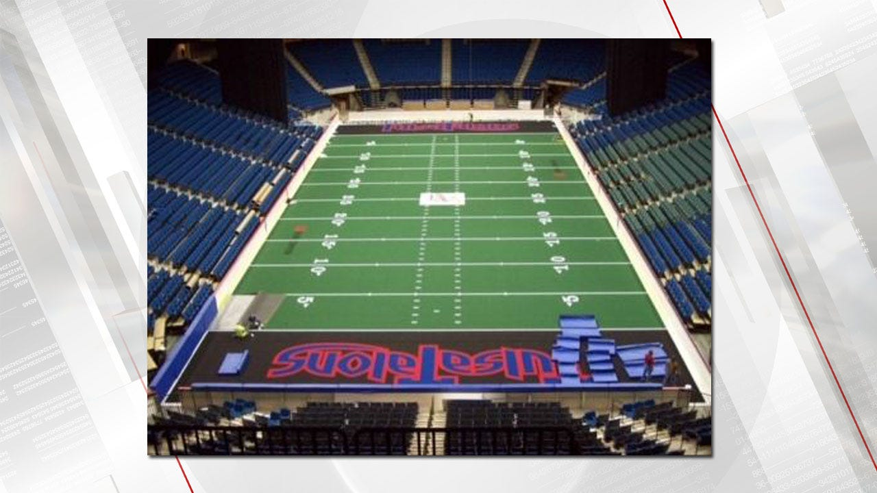 Tulsa Talons Turf Among Items In City Auction