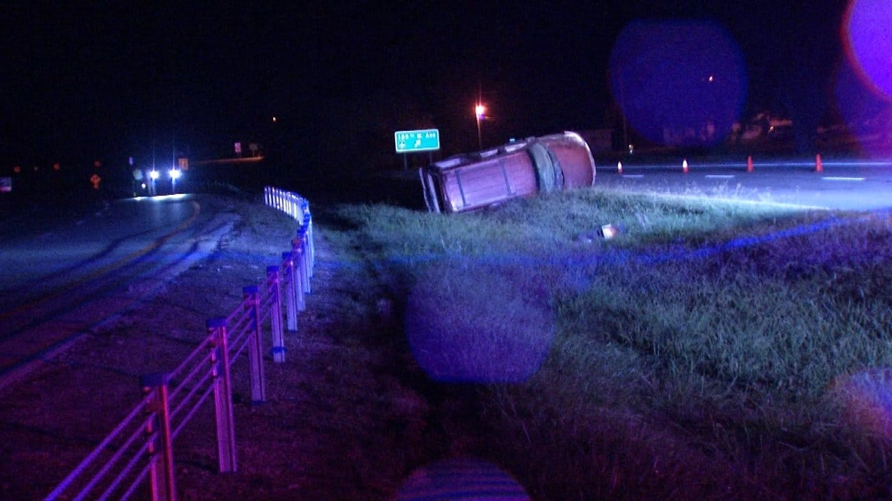 Police: Driver Thrown From SUV In Sand Springs Highway Crash