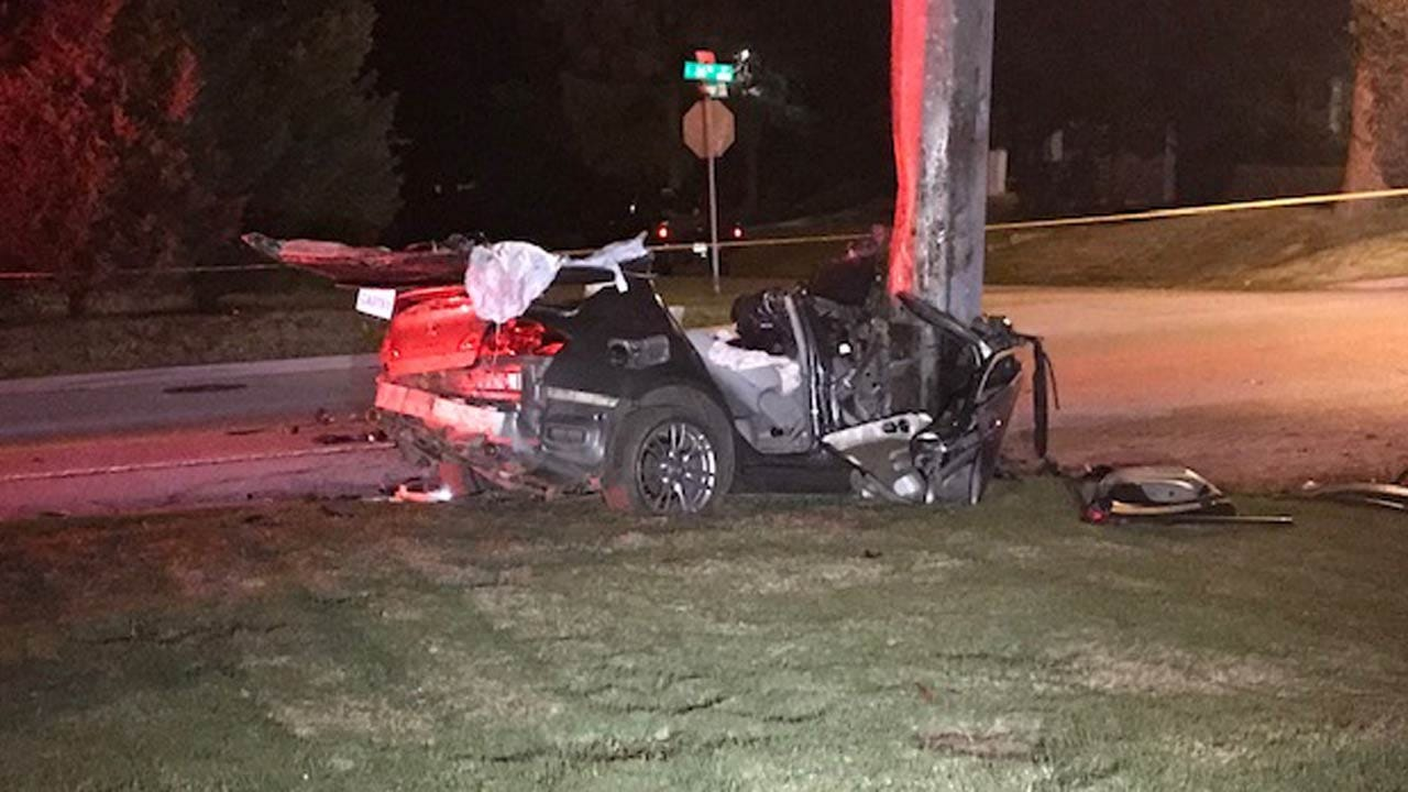 Teen Driver Critical After Crashing Car Into Power Pole, TPD Says